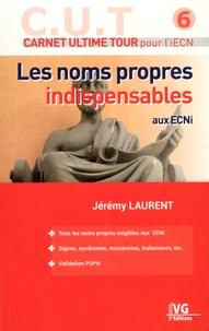 Kindle books téléchargements gratuits au Royaume-Uni Les noms propres indispensables aux ECNi  par Jérémy Laurent