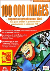 Collectif - 100 000 images - Cliparts et graphismes Web, CD-ROM.