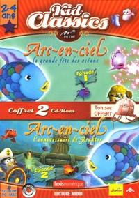 Emme - Arc-en-ciel : La grande fête des océans ; L'anniversaire de Kraktor - 2 CD-ROM.