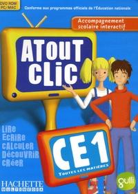Hachette Multimédia - Atout Clic CE1 - DVD-ROM.