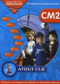 Hachette Multimédia - Atout Clic CM2 - CD-ROM.