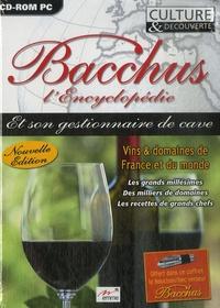 Emme - Bacchus l'Encyclopédie et son gestionnaire de cave - CD ROM.