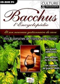 Emme - Bacchus, l'Encyclopédie - CD-ROM.