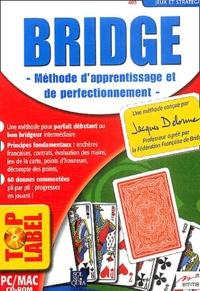 Jacques Delorme - Bridge - Méthode d'apprentissage et de perfectionnement. CD-ROM.
