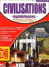 Collectif - Civilisations mystérieuses - CD-ROM.