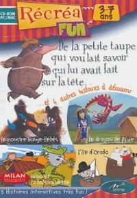 Emme - De la petite taupe qui voulait savoir qui lui avait fait sur la tête et 4 autres histoires - CD-ROM.