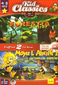 Emme - Forestia Junior ; Maya l'Abeille 2 : L'anniversaire surprise - 2 CD-ROM.