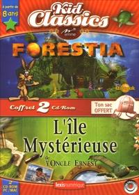 Emme - Forestia ; L'Ile Mystérieuse de l'Oncle Ernest - 2 CD-ROM.