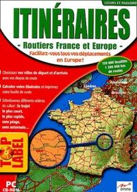 Emme - Itinéraires routiers France et Europe - CD-ROM.