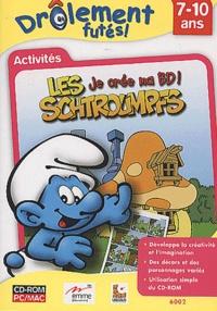 Collectif - Je crée ma BD ! - Les Schtroumpfs, Activités CD-ROM.