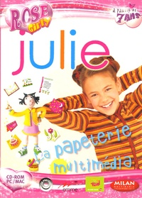 Emme - Julie : La papeterie multimédia - CD-ROM.