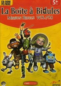 Lexis numérique - La Boîte à Bidules : Mission Bidule WX-755 - CD-ROM.