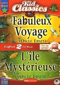 Emme - Le Fabuleux Voyage de l'Oncle Ernest ; L'Ile Mystérieuse de l'Oncle Ernest - 2 CD-ROM.