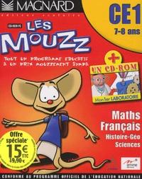 Collectif - Les Mouzz CE1 Maths Français Histoire-Géo Sciences - CD-ROM.