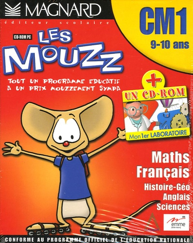Les Mouzz Cm1 9 10 Ans Coffret 2 Cd Rom