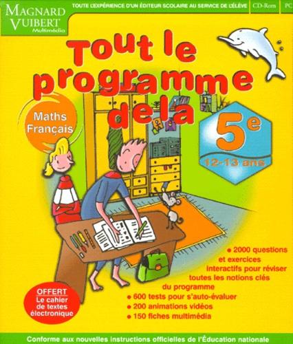 Maths Et Francais Tout Le Programme De La 5eme De Collectif Livre Decitre