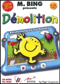 Roger Hargreaves - Monsieur Bing présente Démolition 6-10 ans - CD-ROM.
