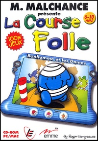 Roger Hargreaves - Monsieur Malchance présente la course folle 6-10 ans - CD-ROM.