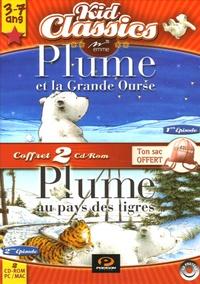 Emme - Plume et la Grande Ourse ; Plume au pays des tigres - 2 CD-ROM.