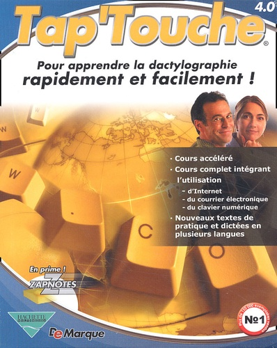 Collectif - Tap'Touche 4. - 0. CD-ROM.