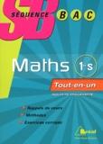 Jérôme Arnoult et Martine Longuet - Mathématiques 1ère S - Programme 2012.