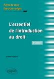 Jérôme Aubert - L'essentiel de l'introduction au droit.