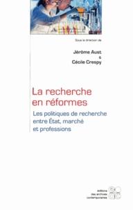 Deedr.fr La recherche en réformes - Les politiques de recherche entre Etat, marché et professions Image
