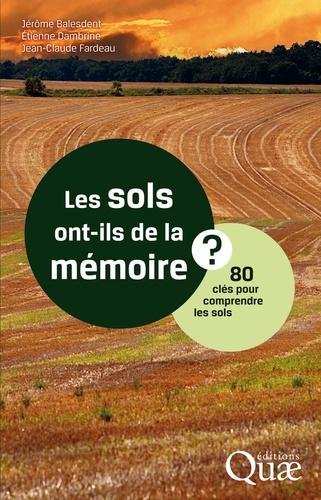 Les sols ont-ils de la mémoire ?. 80 clés pour comprendre les sols