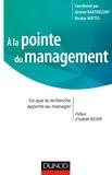 Jérôme Barthélemy et Nicolas Mottis - A la pointe du management.