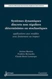 Jérôme Bastien et Frédéric Bernardin - Systèmes dynamiques discrets non réguliers déterministes ou stochastiques - Applications aux modèles avec frottement ou impact.
