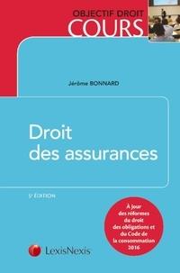 Droit des assurances - Jérôme Bonnard   Showmesound.org