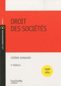 Jérôme Bonnard - Droit des sociétés.