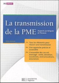La transmission de la PME - Aspects juridiques et fiscaux.pdf