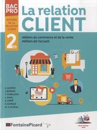 Jérôme Borgne et Younes Cheblaoui - La relation client, accueil et commerce vente 2de Bac Pro Métiers de la relation client.