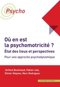 Jérôme Boutinaud et Fabien Joly - Où en est la psychomotricité ? Etat des lieux et perspectives - Pour une approche psychodynamique.