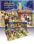 Jérôme Brasseur et Inès D'Oysonville - Grand calendrier de l'Avent pop-up des santons de Provence - Avec son livret d'accompagnement.