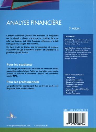 Analyse financière 3e édition