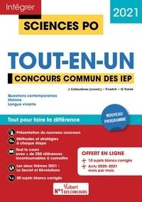 Jérôme Calauzènes et Paul Leitch - Concours commun des IEP - Tout-en-un.