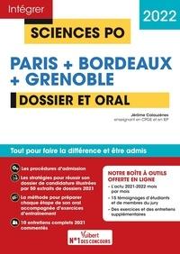 Jérôme Calauzènes - Sciences Po Paris + Bordeaux + Grenoble - Dossier et Oral.