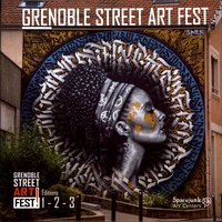 Jérôme Catz - Grenoble Street Art Fest ! - Editions 1, 2, 3.
