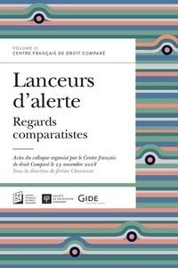 Jérôme Chacornac - Lanceurs d'alerte - Regards comparatistes.