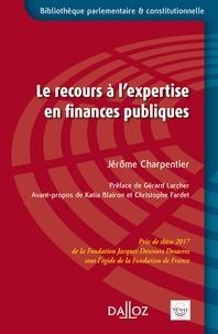 Jérôme Charpentier - Le recours à l'expertise en finances publiques.