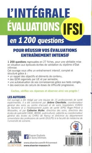 L'intégrale. Evaluations IFSI en 1200 questions