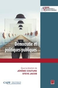 Jérôme Couture - Démocratie et politiques publiques.