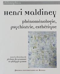 Jérôme de Gramont et Philippe Grosos - Henri Maldiney - Phénoménologie, psychiatrie, esthétique.
