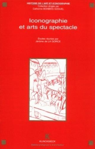 Jérôme de La Gorce - Iconographie et arts du spectacle - Actes du séminaire CNRS, GDR 712, Paris, 1992.