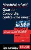 Jérôme Delgado - Montréal créatif - Quartier Concordia, Centre-ville Ouest.