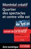Jérôme Delgado - Montréal créatif - Quartier des spectacles, Centre-ville Est.