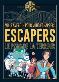 Jérôme Eho et  Meg - Escapers - Le parc de la terreur.
