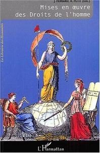 Jérôme Ferrand et Hugues Petit - Mises en oeuvre des Droits de l'homme - Tome 2, L'Odyssée des Droits de l'homme.